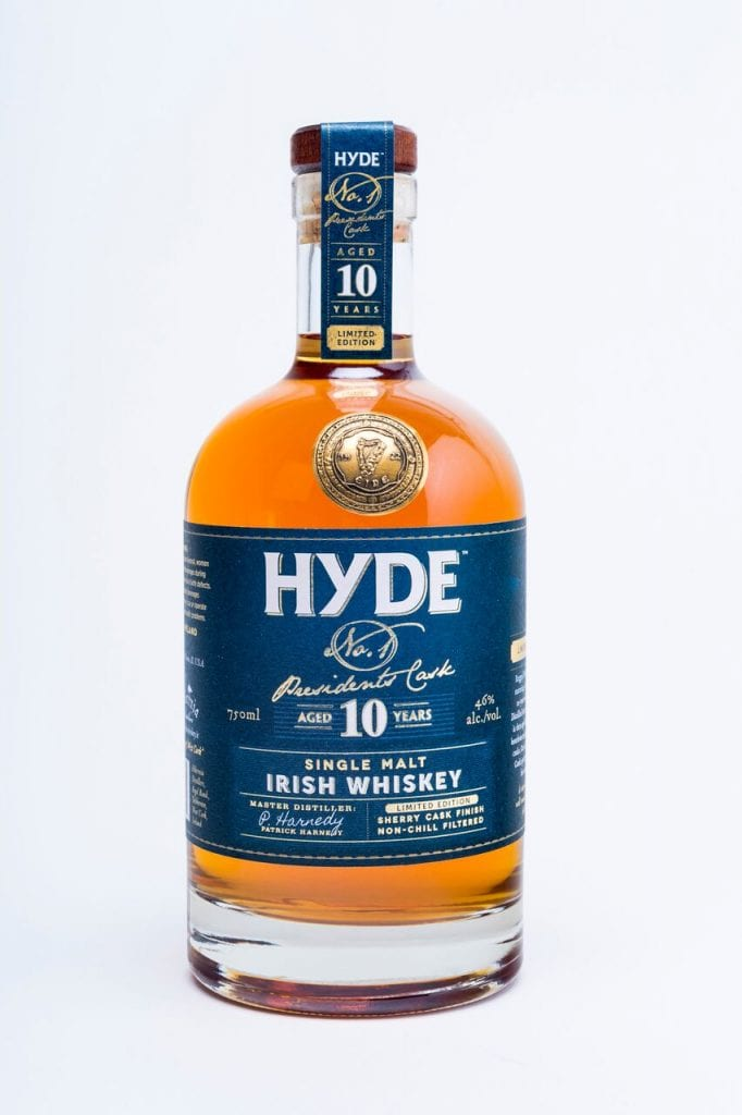 Irish Whiskey Trail Hyde Irish Whiskey